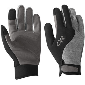 Outdoor Research Upsurge Paddle Guantes, black/charcoal heather